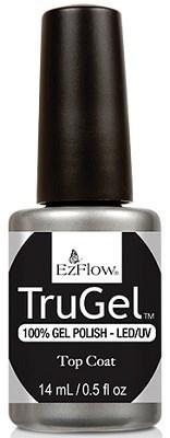 EzFlow TruGel Top Coat, 14 мл. - топ для гель лака - фото 22122