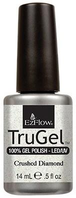 """EzFlow TruGel Crushed Diamond, 14 мл. - гелевый лак """"Алмазная пыль"""" - фото 22139"""