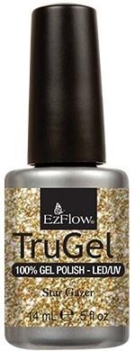 """EzFlow TruGel Star Gazer, 14 мл. - гелевый лак """"Звездочет"""" - фото 22176"""