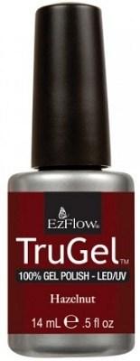 """EzFlow TruGel Hazelnut, 14 мл. - гелевый лак """"Лесной орех"""" - фото 22487"""