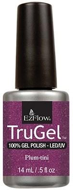 """EzFlow TruGel Plum-tini, 14мл. - гелевый лак """"Сливовый коктейль"""" - фото 22548"""