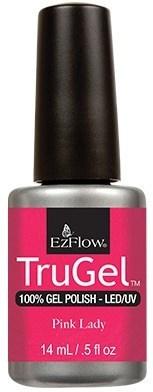 """EzFlow TruGel Pink Lady, 14мл - гелевый лак """"Розовая леди"""" - фото 22570"""