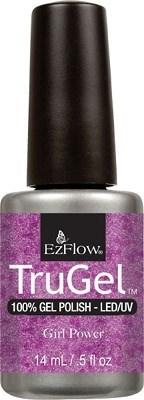 """EzFlow TruGel Girl Power, 14мл - гелевый лак """"Женская сила"""" - фото 22580"""