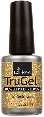 """EzFlow TruGel Make It Rain, 14мл - гелевый лак """"Сорить деньгами"""" - фото 22591"""