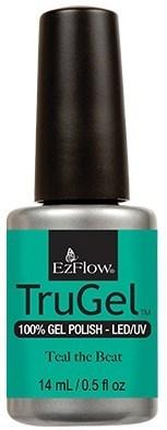 "EzFlow TruGel Teal the Beat, 14 мл. - гелевый лак ""До упаду"" - фото 22647"
