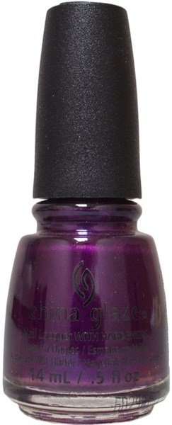 "China Glaze Purple Fiction, 14 мл. - Лак для ногтей China Glaze ""Криминальное чтиво"" - фото 22954"