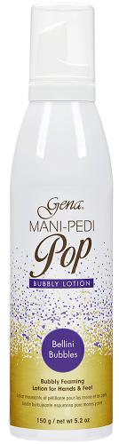 Gena Mani-Pedi Bubbly Lotion Bellini Bubbles,150гр. - увлажняющий лосьон для маникюра и педикюра с ароматом жвачки - фото 24593