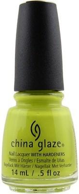 "China Glaze Trip of a Lime Time, 14 мл. - Лак для ногтей ""Долгий путь"" - фото 25462"