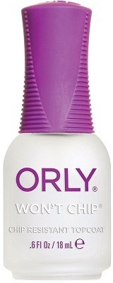 ORLY Won't Chip, 18мл.- Закрепляющее верхнее покрытие - фото 26641