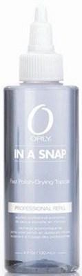 ORLY In A Snap, 120 мл. - быстросохнущий топ, сушка для лака