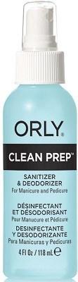 ORLY Clean Prep, 118 мл. - очищающий спрей дегидратор для ногтей