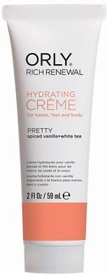 Крем восстанавливающий ORLY Rich Renewal Creme Pretty, 59 мл. для рук с запахом ванили и белым чаем