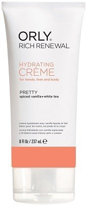 Крем восстанавливающий ORLY Rich Renewal Creme Pretty, 227 мл. для рук с запахом ванили и белым чаем