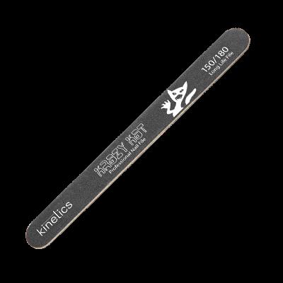 Kinetics Nail Files Krazy Kat, 150/180 грит - пилка Кинетикс для искусственных и натуральных ногтей - фото 27028
