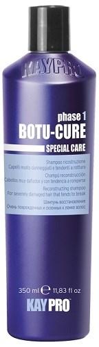 KAYPRO Botu-Cure Shampoo, 350 мл. - Шампунь Ботокс восстанавливающий, для очень поврежденных и склонных к ломке волос - фото 28324