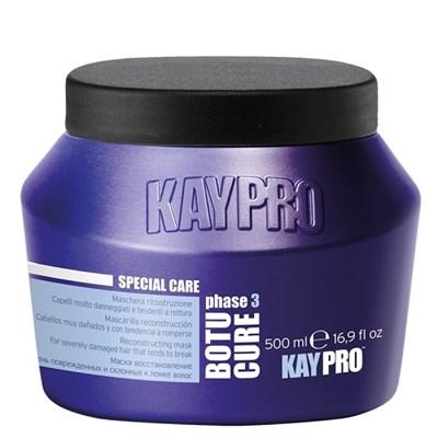 KAYPRO Botu-Cure Mask, 500 мл. - Маска Ботокс восстанавливающая, для очень поврежденных и склонных к ломке волос - фото 28330