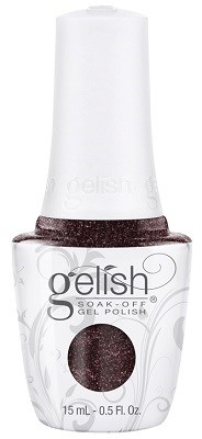 "Harmony Gelish Gel Polish Whose Cider Are You On, 15 мл. - гель лак Гелиш ""Черная жемчужина"" - фото 30579"
