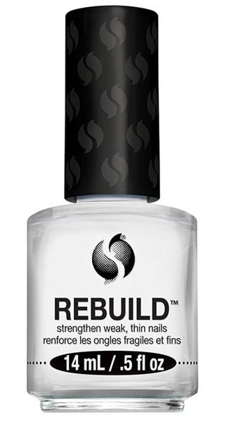 Seche Rebuild, 14 мл. - восстанавливающее покрытие для слабых, тонких, слоящихся ногтей