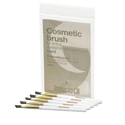 RefectoCil Cosmetic Brush Hard, 5шт. - Кисточка для окраски ресниц и бровей, жесткая - фото 30725