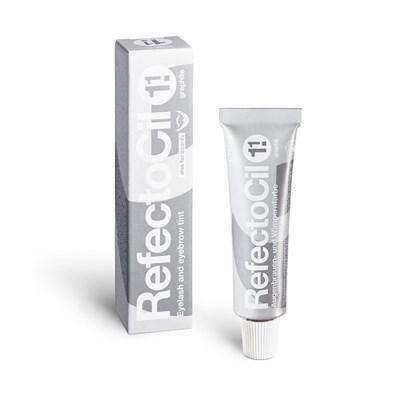 RefectoCil Eyelash & Eyebrow Color 1.1 graphite, 15 мл. - тёмно-серая краска для бровей