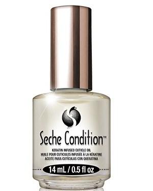 Seche Condition, 14 мл. - масло для кутикулы и ногтей с кератином - фото 30796