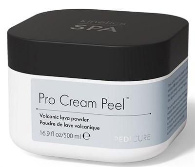Kinetics Pro Cream Peel, 500 мл. - Крем-пилинг для ног с вулканическим порошком - фото 32393