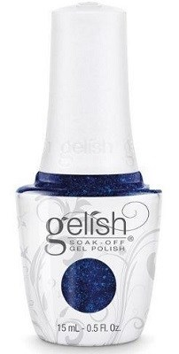 "Harmony Gelish Gel Polish Holiday Party Blues - Royal Blue Glitter , 15 мл. - гель лак Гелиш ""В стиле ""блюз"" - фото 34584"