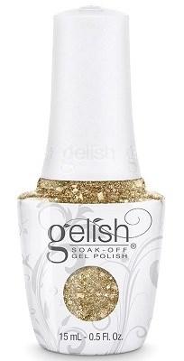 "Harmony Gelish Gel Polish All That Glitters Is Gold, 15 мл. - гель лак Гелиш ""Золотое сечение"" - фото 34592"