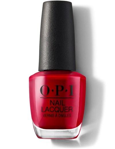 NLZ13 OPI Color So Hot It Berns, 15мл.- лак для ногтей «Зажигательный Берн»