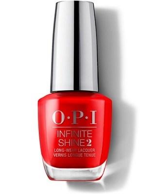 "ISL08 OPI Infinite Shine Unrepentantly Red, 15 мл. - лак для ногтей ""Не раскаявшийся красный"""