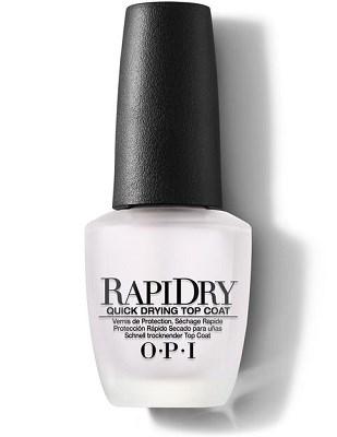 NTT74 OPI Rapidry Top Coat, 15 мл. - быстросохнущее верхнее покрытие для лака