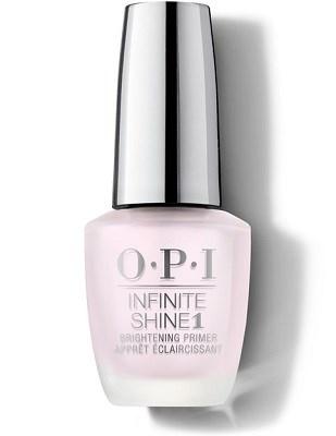 OPI Infinite Shine Brightening Primer, 15 мл. - базовое покрытие осветляющее ногти для лака Инфинити Шайн