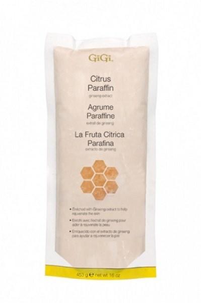 Парафин для рук GiGi Citrus Paraffin, 453гр. с ароматом цитрусовых