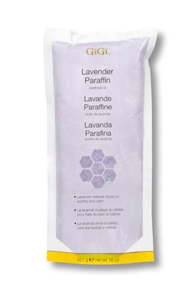 Парафин для рук GiGi Lavender Paraffin, 453 г. с ароматом лаванды