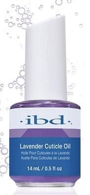 Масло для ногтей и кутикулы IBD Lavender Cuticle Oil, 14 мл. с ароматом лаванды