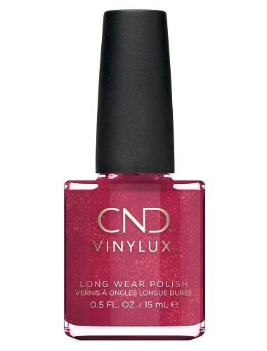 Лак для ногтей CND VINYLUX #139 Red Baroness, 15 мл. профессиональное покрытие - фото 40182