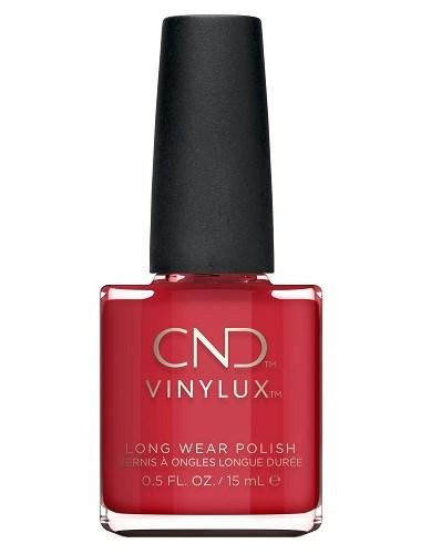Лак для ногтей CND VINYLUX #143 Rouge Red, 15 мл. профессиональное покрытие