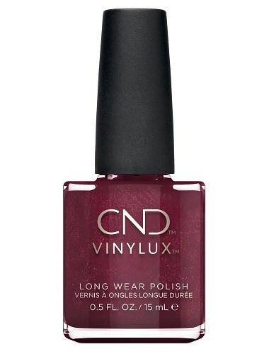 Лак для ногтей CND VINYLUX #174 Crimson Sash, 15 мл. профессиональное покрытие