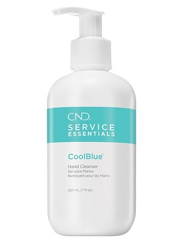 Дезинфектор для рук CND Cool Blue, 207 мл. антибактериальный гель