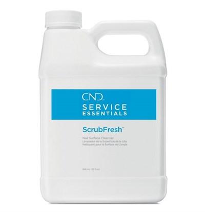 Жидкость CND Scrub Fresh, 946 мл. для обезжиривания и снятия липкого слоя
