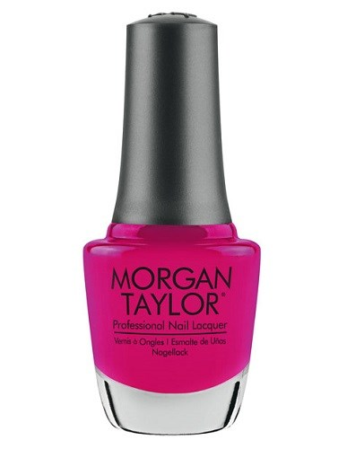 "Лак для ногтей Morgan Taylor Prettier In Pink, 15 мл. ""Розовый гламур"" - фото 40739"