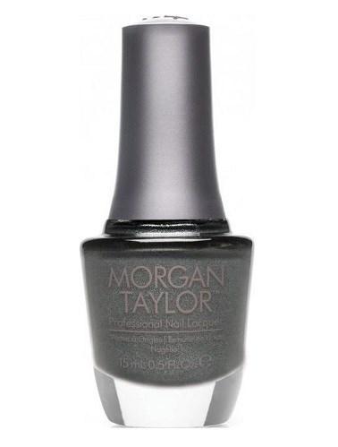 """Лак для ногтей Morgan Taylor Metaling Around, 15 мл. """"Тёмный металлик"""""""