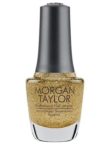 """Лак для ногтей Morgan Taylor Glitter & Gold, 15 мл. """"Блеск золота"""""""
