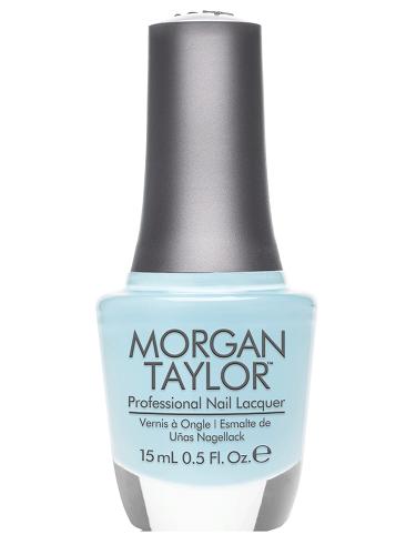 """Лак для ногтей Morgan Taylor Water Baby, 15 мл. """"Голубая акварель"""" - фото 40843"""