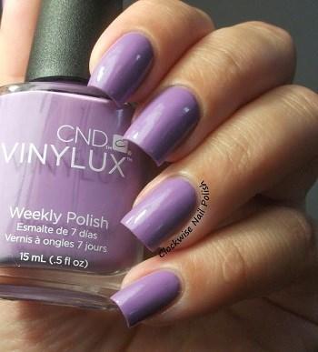 CND VINYLUX #125 Lilac Longing,15 мл.- лак для ногтей Винилюкс №125 - фото 4138