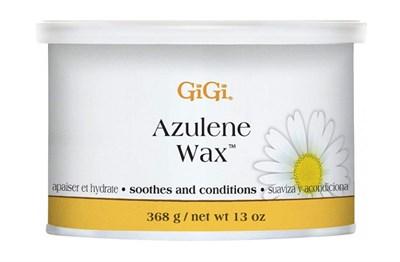 Воск для лица GiGi Azulene Wax, 368 гр. с азуленовым маслом, для чувствительной кожи и тела