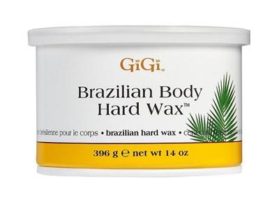 Бразильский воск GiGi Brazilian Body Hard Wax, 396 гр. для эпиляции бикини, для жёстких волос и чувствительной кожи