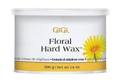 Твёрдый воск GiGi Floral Hard Wax, 396 гр. для эпиляции бикини, ног и жёстких волос