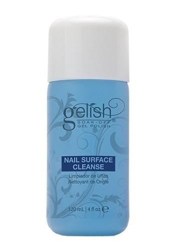 Жидкость для снятия липкого слоя GELISH Nail Surface Cleanser, 120 мл. и очистки кистей, ламп