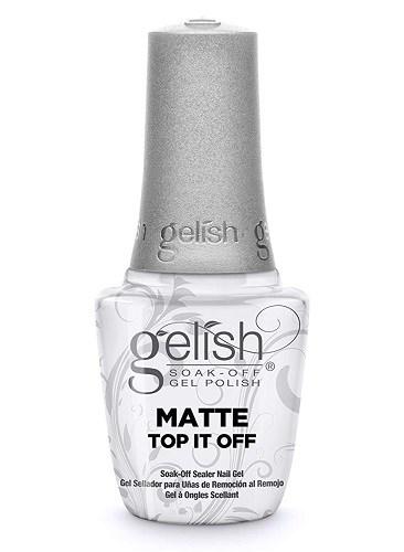 Матовый топ GELISH Matte Top It Off, 15 мл. для гель лака Гелиш